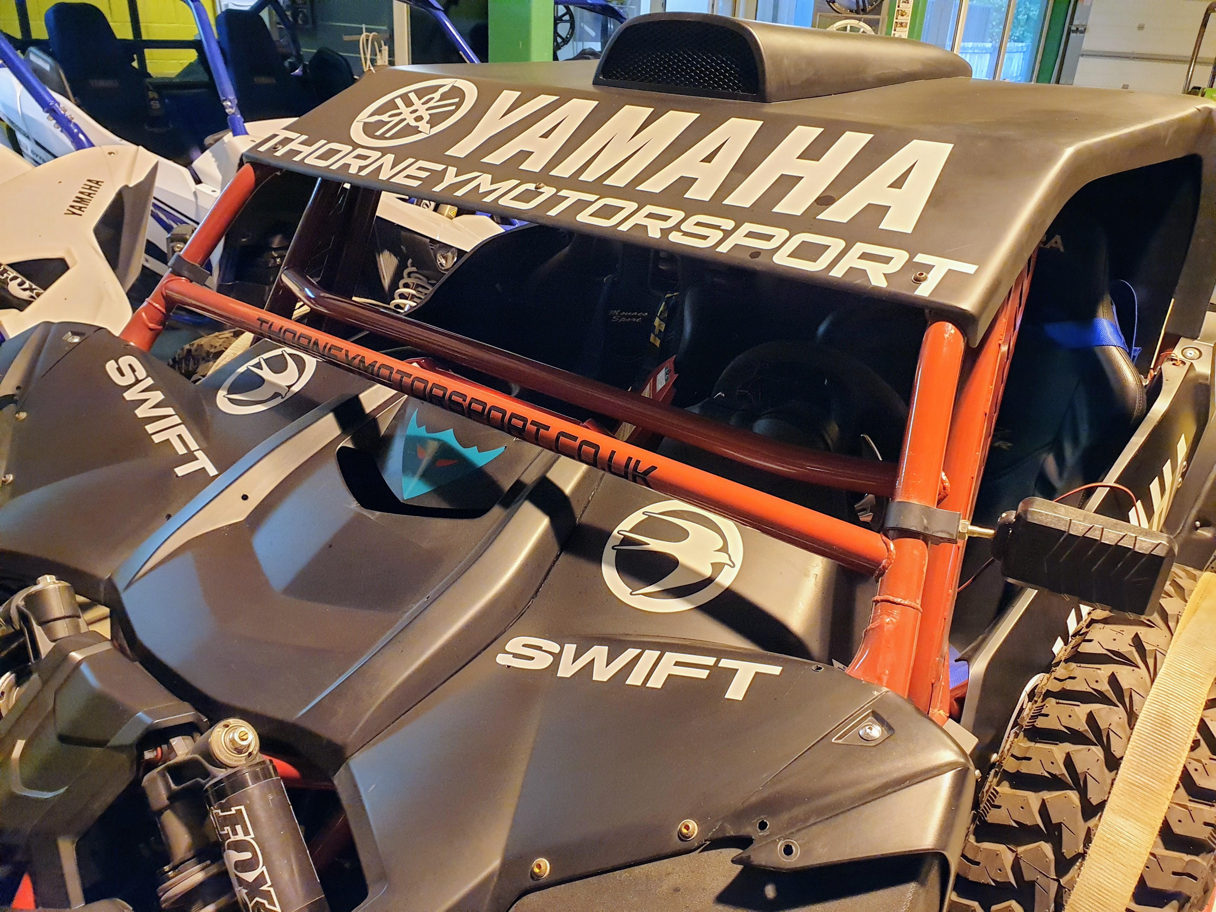 Yamaha YXZ1000R SS Dakar Spec