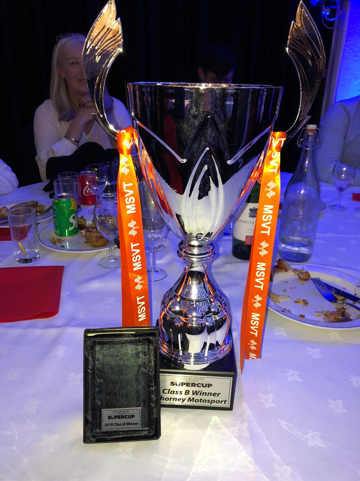 Callum Noble, Class B MSV Supercup Champion