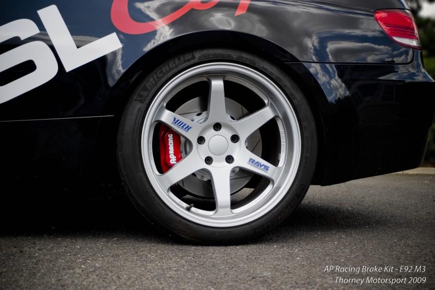 AP Racing 4 pot rear brake kit