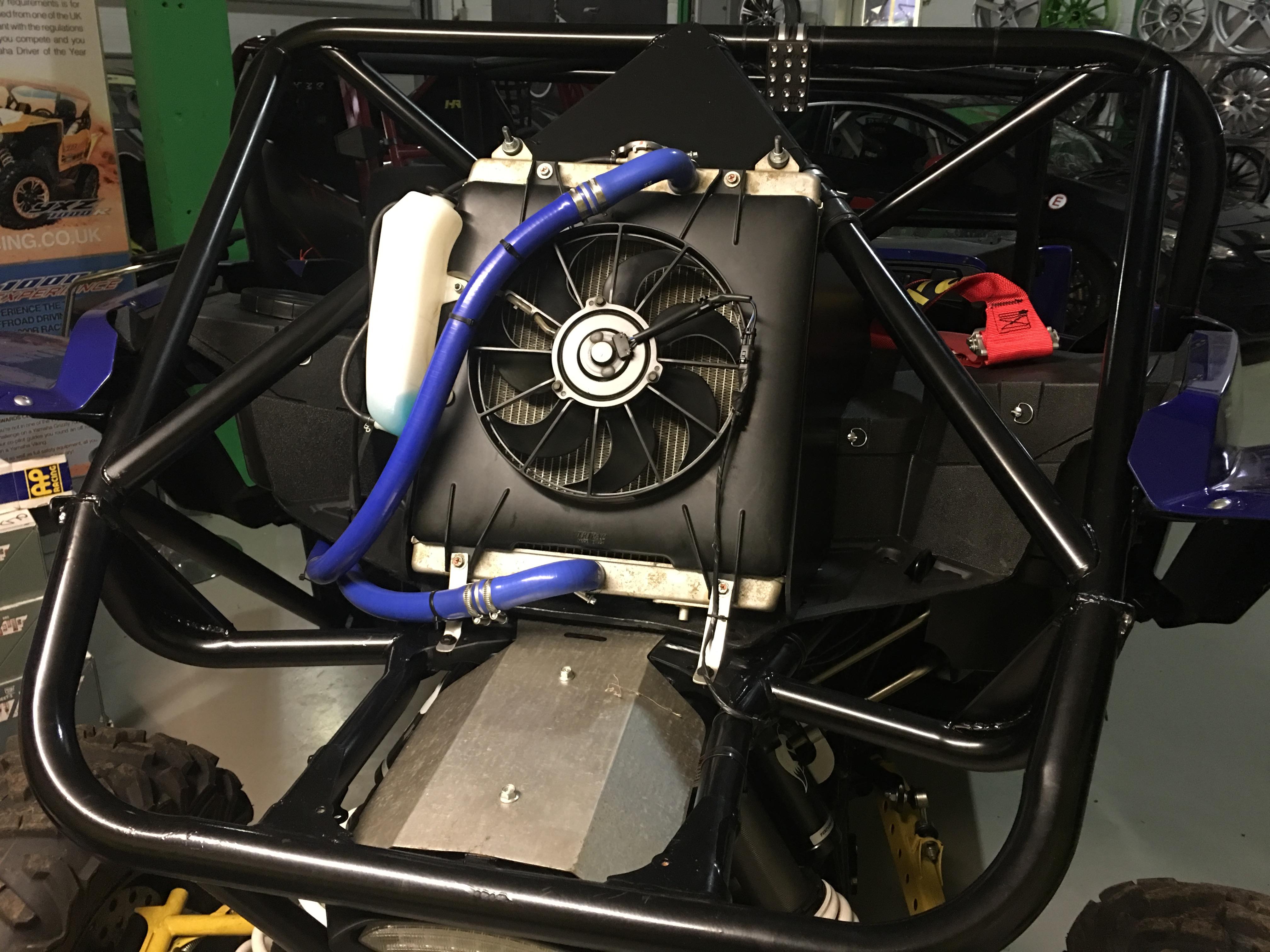 Yxz1000 Radiator Relocation