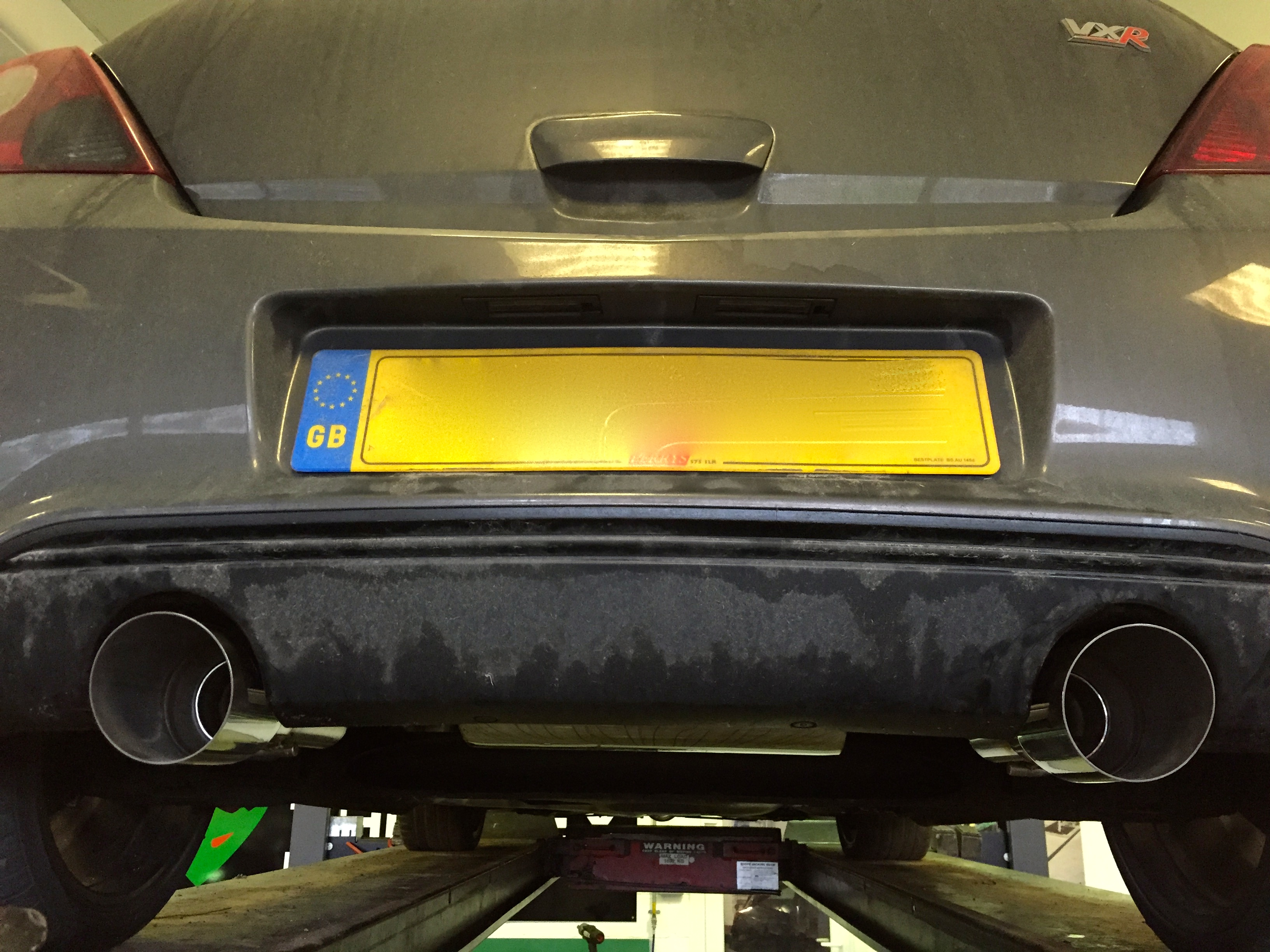 Corsa VXR Custom Built Full Race Exhaust - Twin exit