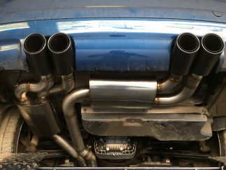 TMS BMW E46 M3 Custom Build Full Exhaust System