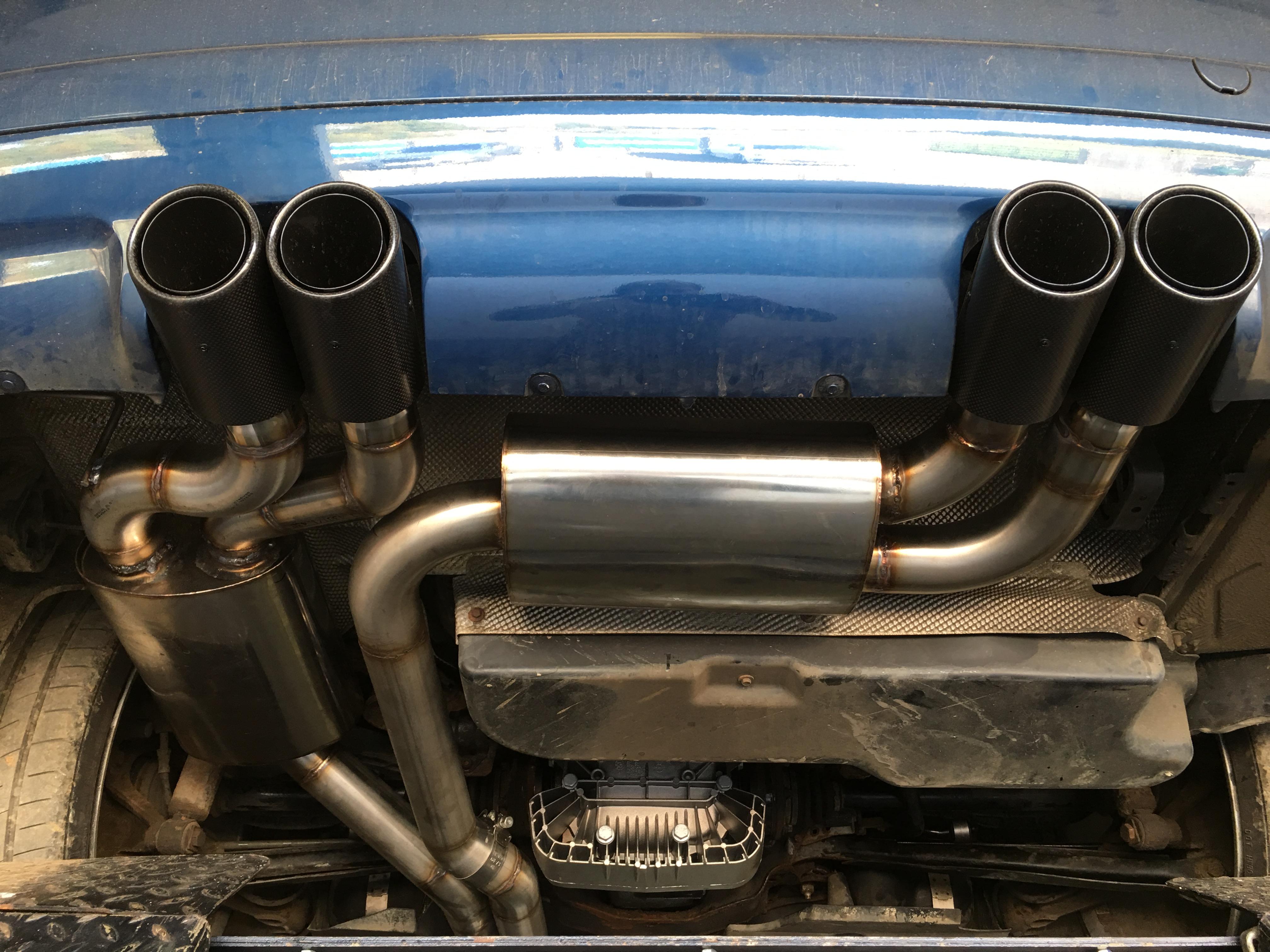 TMS BMW E46 M3 Custom Build Full Exhaust System